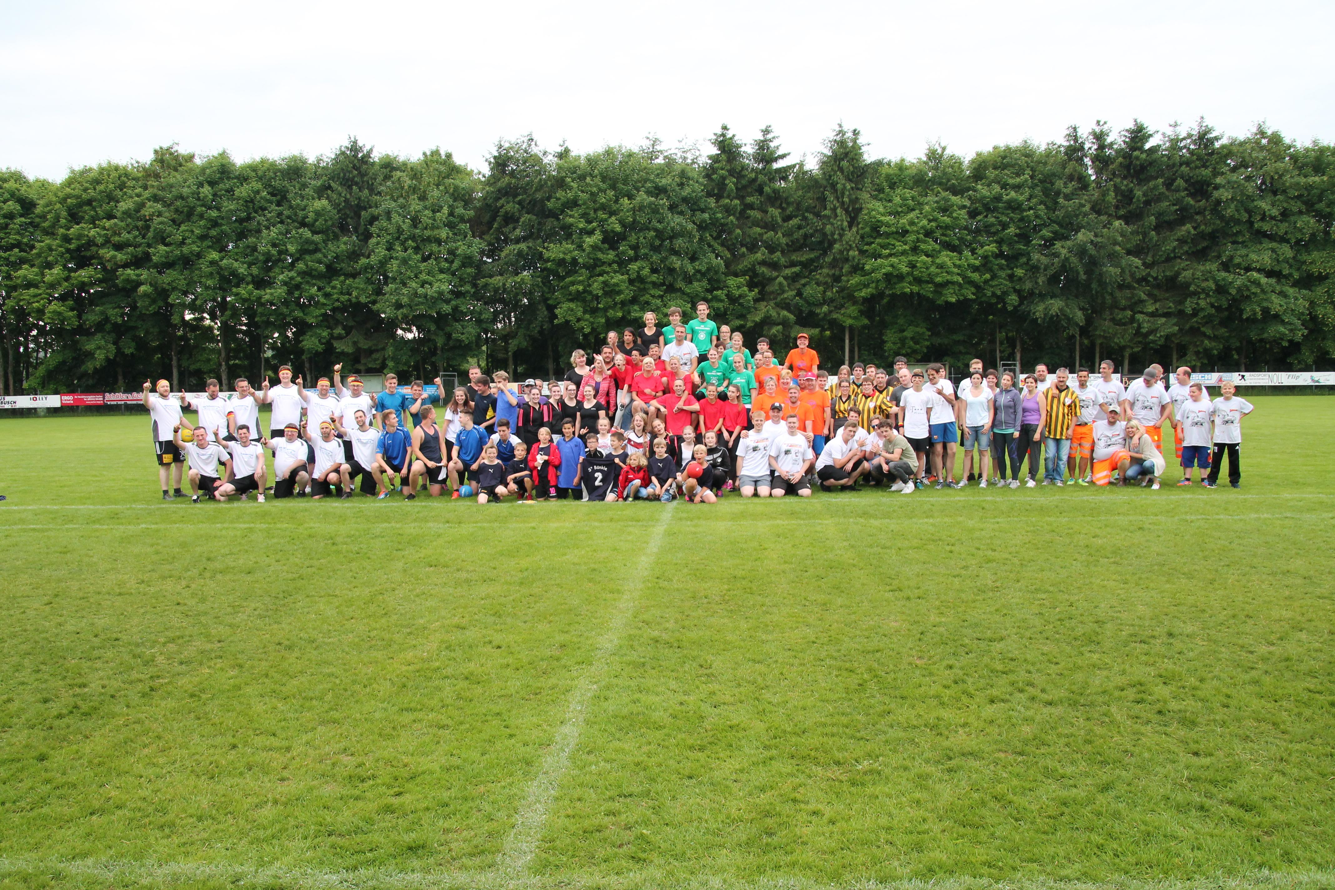 Völkerball-Turnier 2016